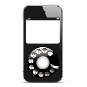 creative-mobile-phone-with-retro-disc-dials